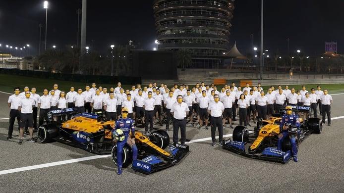 Norris y Seidl se despiden de Sainz: «Ha tenido un impacto increíble en McLaren»