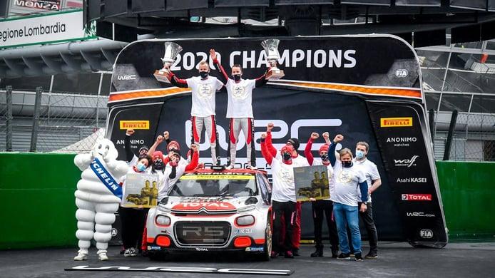 El noruego Mads Ostberg consigue el título de WRC2 para Citroën