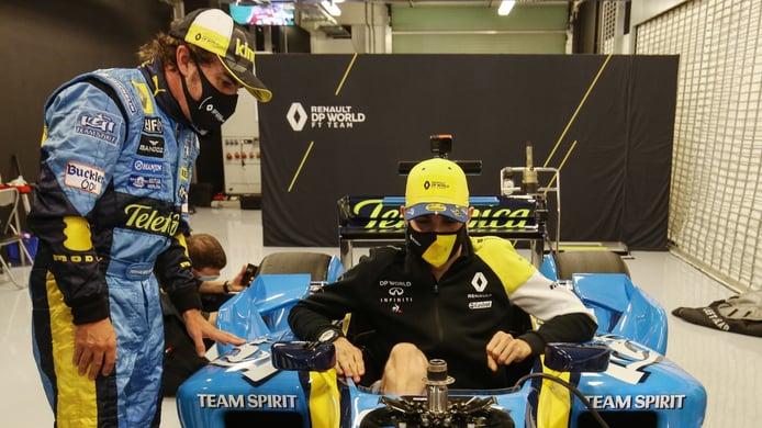 Ocon valora la llegada de Fernando Alonso a Alpine: «Tengo una gran relación con él»