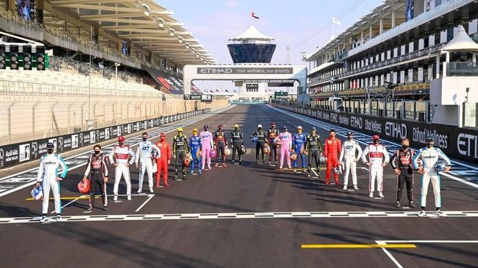 Los pilotos y equipos de la parrilla de la Fórmula 1 de 2021