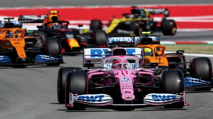 Pérez señala a Stroll en su despedida: «Dos pilotos fuertes marcan la diferencia»