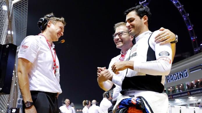 Sainz: «En Ferrari quiero crear un espíritu similar al de McLaren y sé cómo hacerlo»