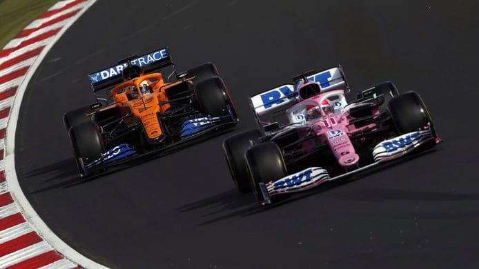 Sainz no se explica cómo Racing Point «aún no ha asegurado el tercer puesto»