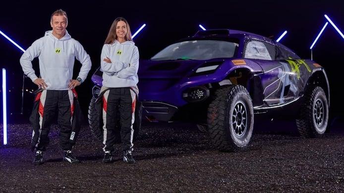 Sébastien Loeb y Cristina Gutiérrez, pilotos de X44 en Extreme E