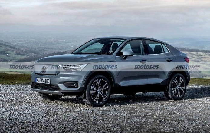 Adelanto del nuevo SUV coupé basado en el Volvo XC40, un nuevo eléctrico para 2021