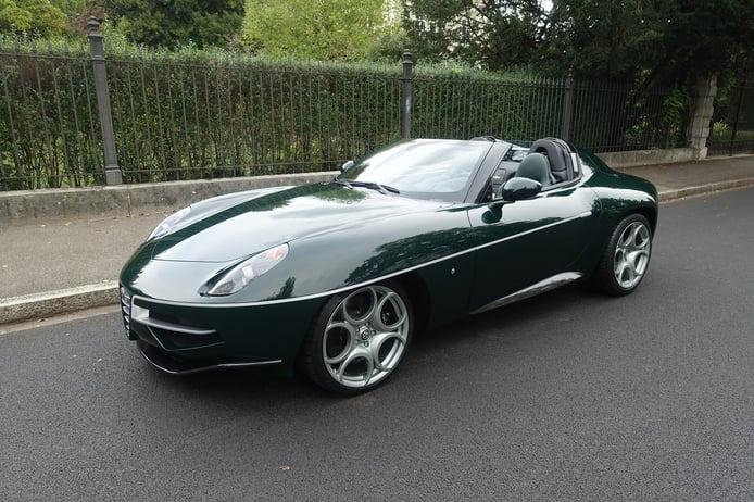 Pieza única: uno de los raros Alfa Romeo Disco Volante Spyder aparece a la venta