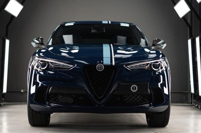 Garage Italia presenta una edición especial del Alfa Romeo Stelvio Quadrifoglio