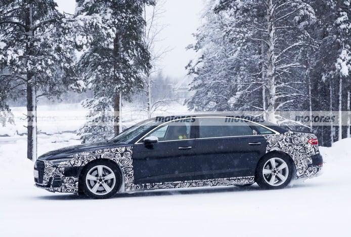 Foto espía Audi A8 Horch - exterior