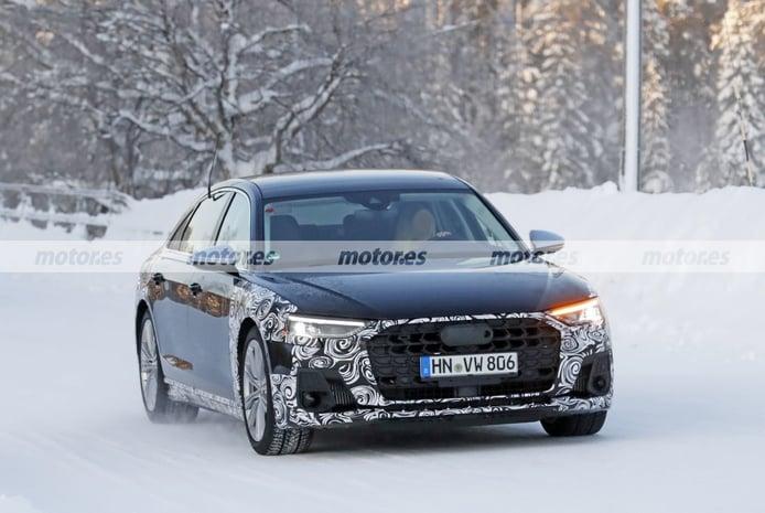 El Audi S8 Facelift 2022, cazado en sus primeras pruebas en el norte de Europa