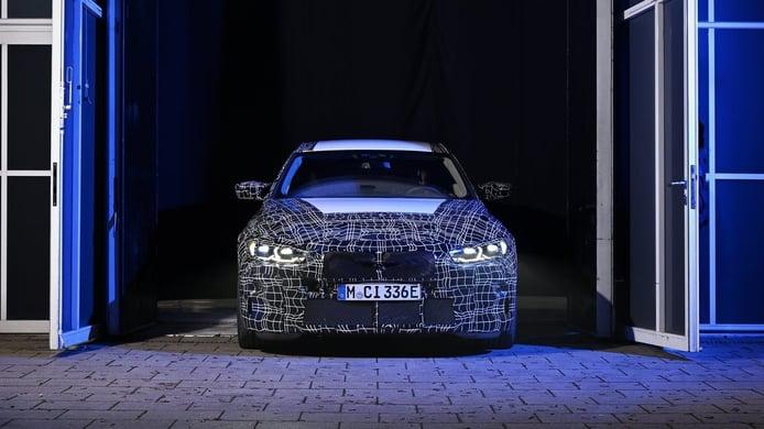 Nuevo teaser del nuevo BMW i4 M50 xDrive, la marca alemana confirma su debut en 2021