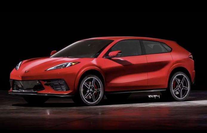 General Motors estudia una posible variante SUV para la gama Chevrolet Corvette