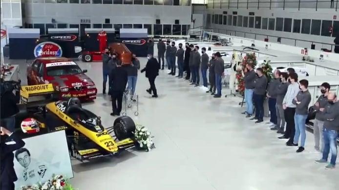 Así fue el emotivo homenaje de Campos Racing a su fundador