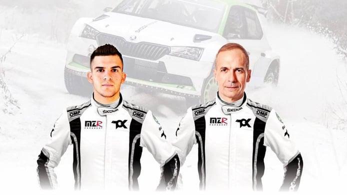 Fabrizio Zaldivar confirma su programa en WRC3 con Carlos del Barrio