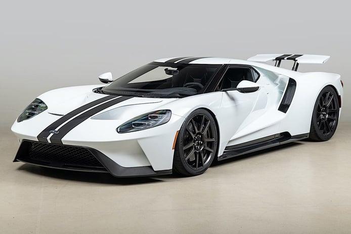 Scott Dixon vende su Ford GT 2019 de carbono a estrenar