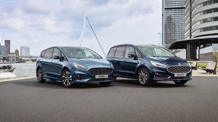 Los Ford S-MAX Hybrid y Ford Galaxy Hybrid se pondrán a la venta en mayo