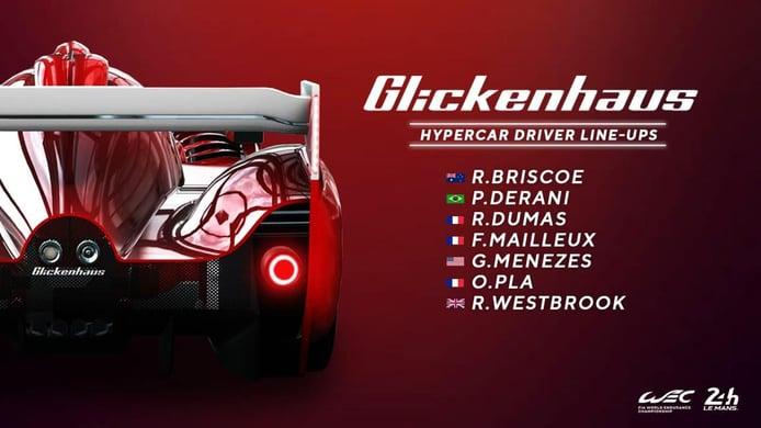 Glickenhaus selecciona siete pilotos para el WEC: ¡Empieza el juego!