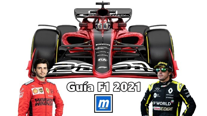 Guía completa F1 2021: presentaciones, test, calendario, equipos y pilotos (con vídeo)