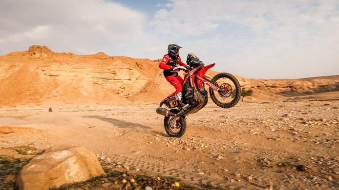 Honda y Peterhansel ponen el Dakar a su favor en la novena etapa