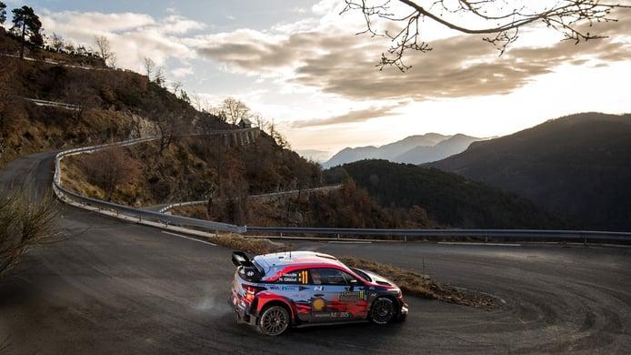 Hyundai busca iniciar el año con victoria en el Rally de Montecarlo