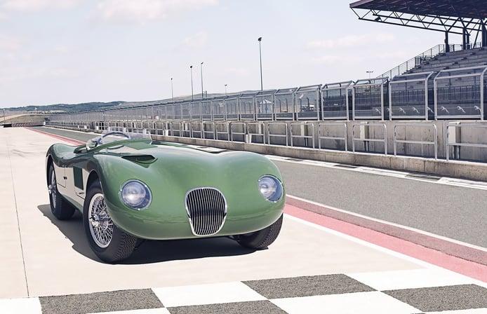 Jaguar sorprende lanzando el mítico C-Type ganador de Le Mans 70 años después