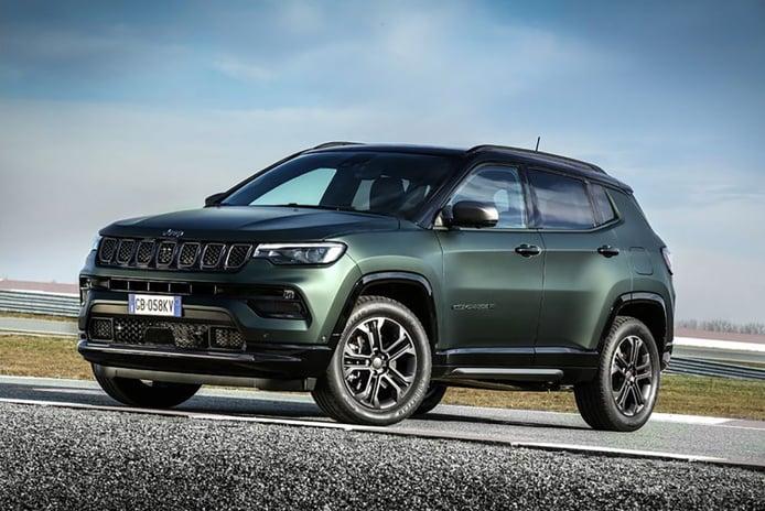 El Jeep Compass 2022 debutará en primavera con la edición especial 80th Anniversary