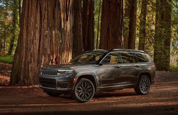 Jeep presenta el atractivo y tecnológico Grand Cherokee L 2021 de 7 plazas