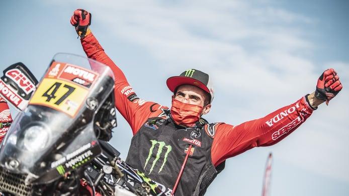Kevin Benavides, ganador del Dakar, acaba contrato con Honda y no se cierra puertas