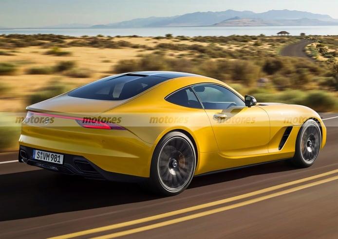 Mercedes-AMG GT 2022, así será la nueva generación del exclusivo deportivo