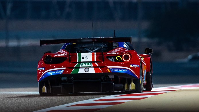 Miguel Molina estrena nuevo 'compi' en el proyecto de Ferrari en el WEC