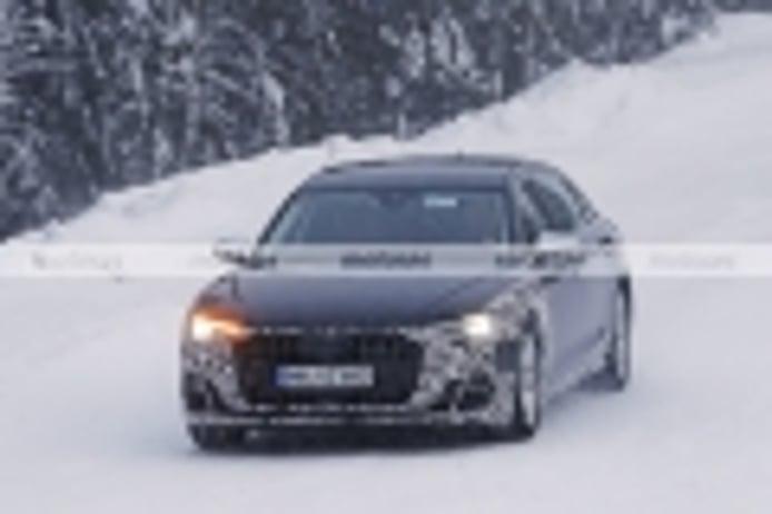 Nuevas fotos espía presentan un Audi A8 L 2022 especial ¿el lujoso Horch a la vista?