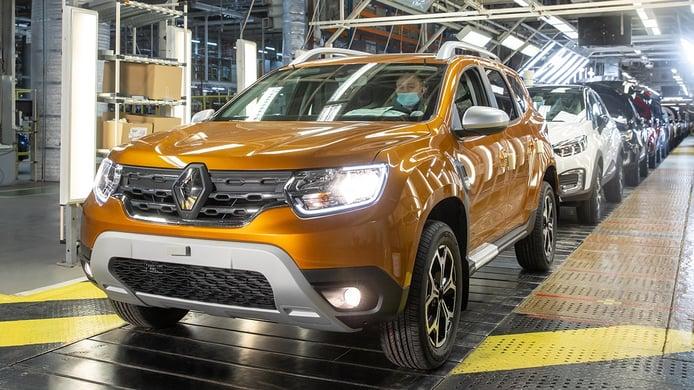 El nuevo Renault Duster 2021, basado en el SUV de Dacia, ya es fabricado en Rusia