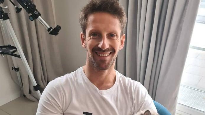 Romain Grosjean muestra el impactante estado de las quemaduras de sus manos