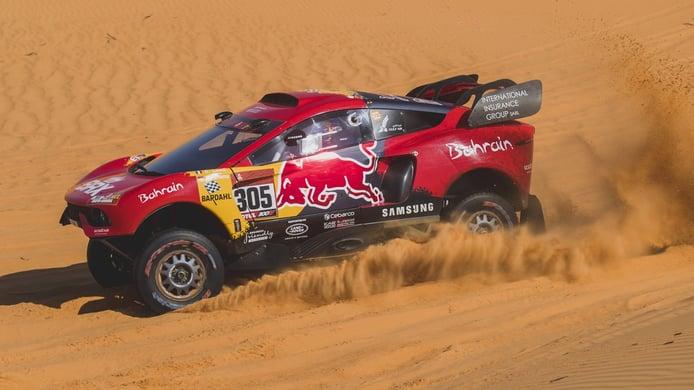 Sébastien Loeb vive la jornada más negra en su BRX Hunter T1