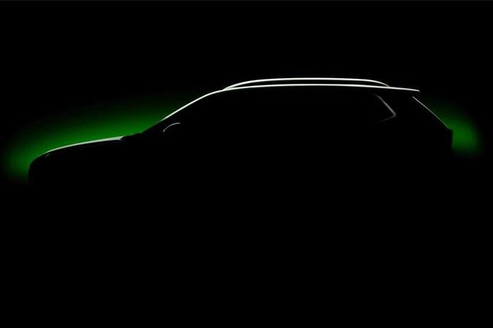 Primer teaser del nuevo Skoda Kushaq, un nuevo SUV para India equivalente al Kamiq