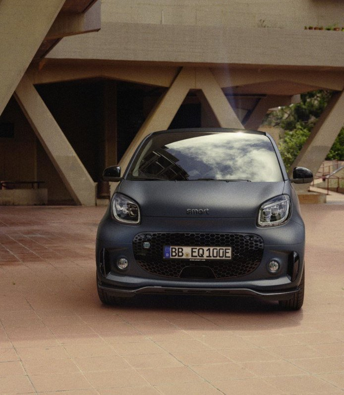 Smart EQ fortwo edition bluedawn, el pequeño eléctrico se vuelve más deportivo