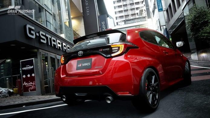 El nuevo Toyota GR Yaris, el modelo más vendido en Gran Turismo Sport