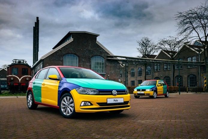 El Volkswagen Polo Arlequín 2021 muestra la alegría de los colores en Holanda
