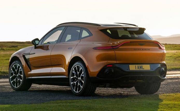Los pedidos del nuevo Aston Martin DBX, un soplo de oxígeno para la marca
