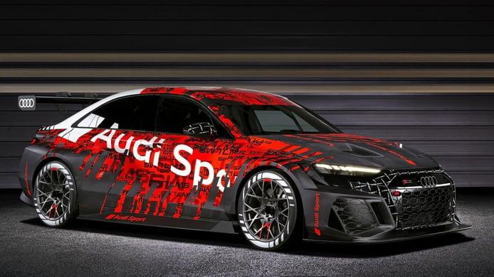 Audi Sport no se olvida del WTCR y presenta el nuevo Audi RS 3 LMS TCR