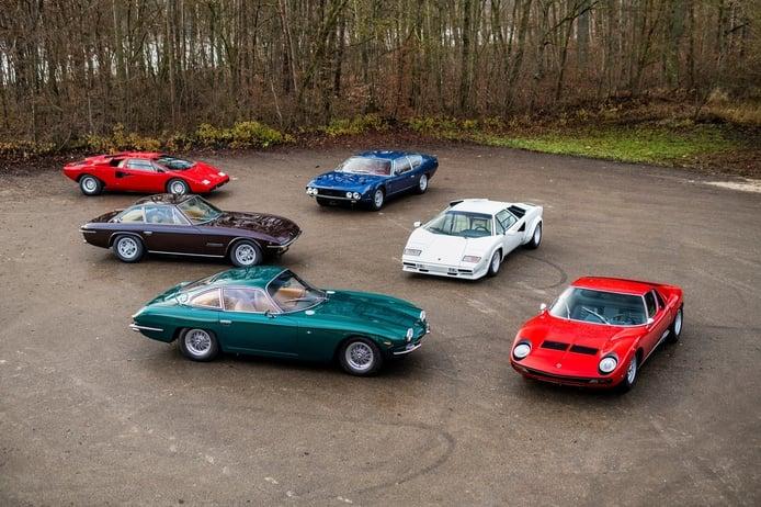 La colección Lamborghini definitiva se pone a la venta en París