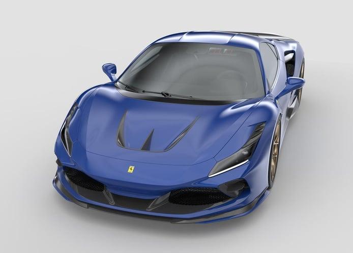 El Ferrari F8 Tributo más agresivo gracias a un nuevo kit de carrocería impreso en 3D