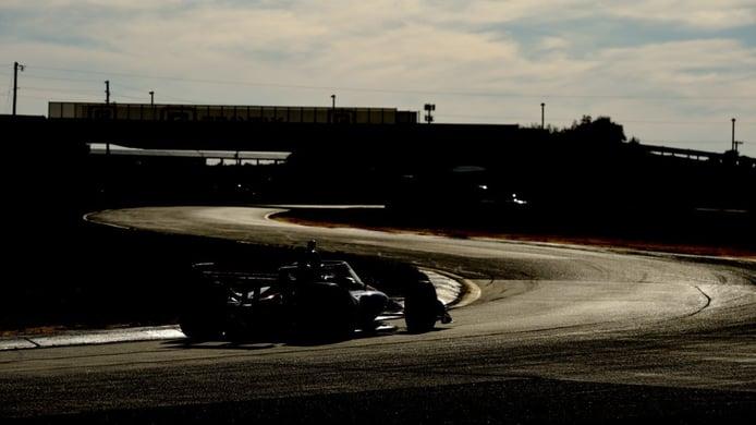 J. R. Hildebrand inscribe un IndyCar moderno en la Subida a Pikes Peak