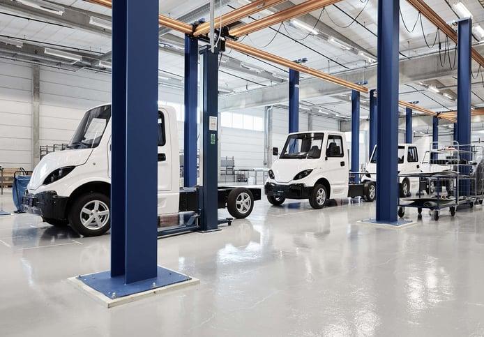Inzile podría ocupar la fábrica de Nissan en Barcelona y producir industriales eléctricos