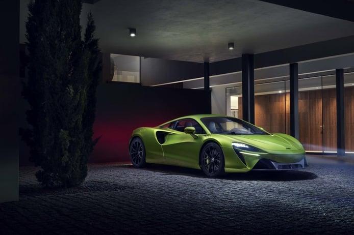 McLaren Artura, llega el primer deportivo híbrido enchufable a gran escala