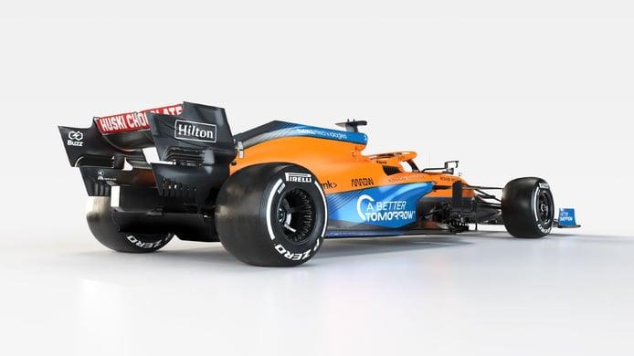 McLaren prepara el debut del MCL35M con un filming day en Silverstone