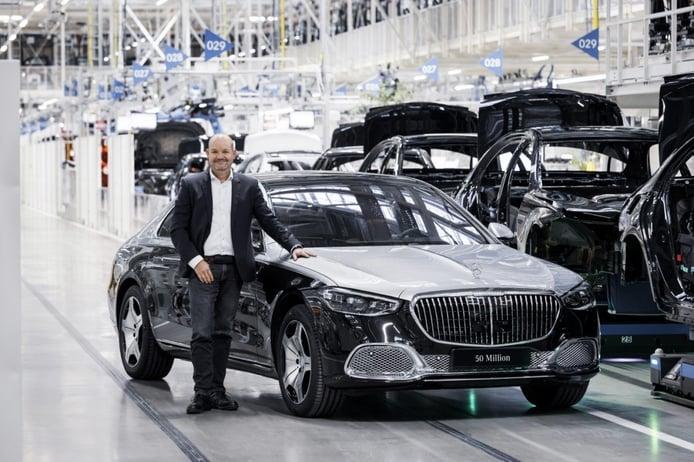 Nuevo récord de producción en Mercedes, 50 millones de coches fabricados
