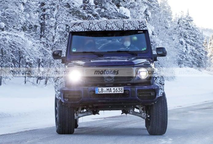 El nuevo Mercedes-AMG G 63 4MATIC 4x4² luce color de pre-producción