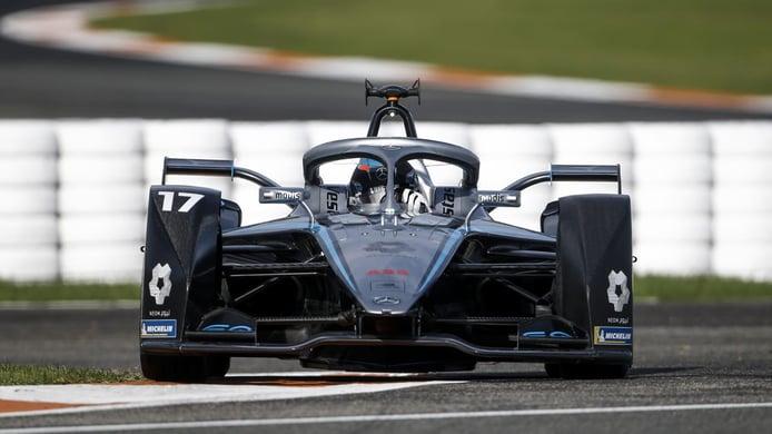 Mercedes EQ acelera para estrenar su nuevo tren motriz en la Fórmula E