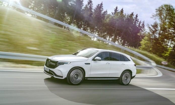 Mercedes EQC 400 4MATIC AMG Line, el SUV eléctrico se vuelve más deportivo