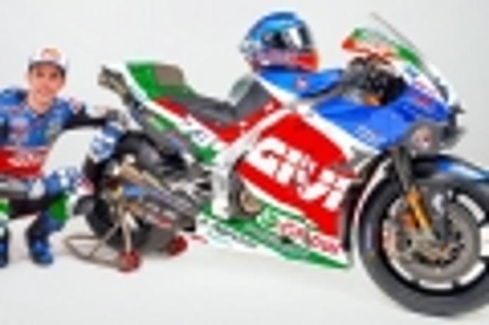 El equipo LCR Honda presenta la MotoGP del español Álex Márquez